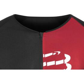 Compressport Triathlon Postural Aero Camiseta Manga Corta Hombre, black